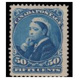 Canada Stamps #47 Mint HR F/VF CV $425