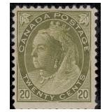 Canada Stamps #74-84 Mint HR F/VF CV $2278