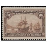 Canada Stamps #96-103 Mint HR F/VF CV $998