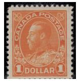 Canada Stamps #104-122 Mint HR F/VF CV $1180
