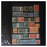 Canada Stamps 300+ Revenues in stockbook