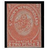 Newfoundland Canada Stamps #11 Mint No Gum CV $475