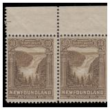 Newfoundland Stamps #145-159 Mint NH Pairs CV $560