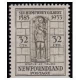 Newfoundland Stamps #212-225 Mint HR F/VF CV $160