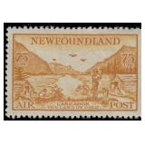Newfoundland Stamps #C13-C17 Mint HR VF CV $182