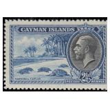 Cayman Islands Stamps #85-96 Mint HR/NH CV $429