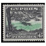 Cyprus Stamps #125-135 Mint HR F/VF CV $231.80