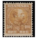 Denmark Stamps #65-69 Mint Hinged CV $309