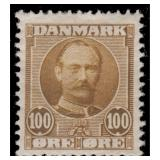 Denmark Stamps #72-78 Mint Hinged CV $247