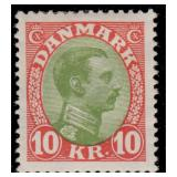 Denmark Stamps #97-131 Mint Hinged CV $1082