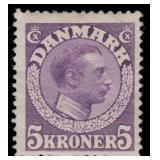 Denmark Stamps #132-134 Mint Hinged CV $260