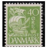 Denmark Stamps #232-238 & 232A - 238J MH CV $178