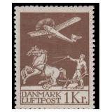 Denmark Stamps #C1-C5 Mint Hinged CV $540