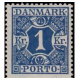 Denmark Stamps #J9-J24 Mint Hinged CV $237