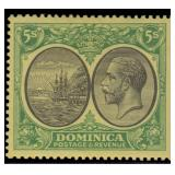 Dominica Stamps #65-82 Mint HR CV $210