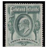 Falkland Island Stamps #22-28 Mint HR F/VF CV $350