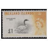 Falkland Island Stamps #128-142 Mint NH CV $185