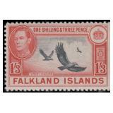 Falkland Island Stamps #84-96 Mint HR F/VF CV $361