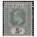 Fiji Stamps #59-68 Mint HR F/VF CV $152