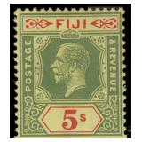 Fiji Stamps #93-106 Mint HR F/VF CV $153