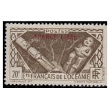 French Polynesia Stamps #126-135 Mint NH CV $480