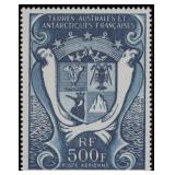 French Southern Antarctic Terr Mint LH CV $508.70