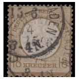 Germany Stamps #26 Used CV $1900