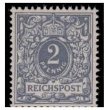 Germany Stamps #45a Mint CV $190