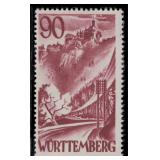 Germany Occupation Stamps #8N28-8N37 Mint CV $150