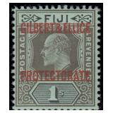 Gilbert & Ellice Stamps #1-7 Mint HR CV $221+