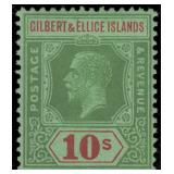 Gilbert & Ellice Stamps #27-31 Mint HR CV $195.50