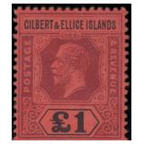 Gilbert & Ellice Stamps #14-26 Mint HR CV $706.50