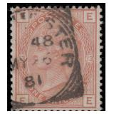 Great Britain Stamps #65 Used Fine Plate 13 CV$750