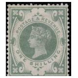Great Britain Stamps #122 Mint HR VF CV $275