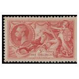 Great Britain Stamps #223 Mint HR VF+ CV $175