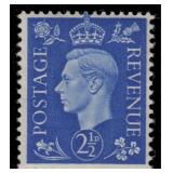 Great Britain Stamps #235a-239a Mint NH CV $159.50