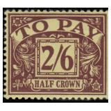 Great Britain Stamps #J18-J25 Mint HR CV $488