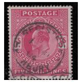 Great Britain Stamps #1, 139-140, 173 Used CV $855
