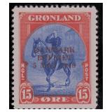 Greenland Stamps #22-27 Mint Hinged CV $570