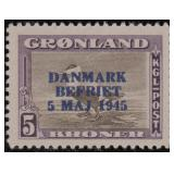 Greenland Stamps #22-27 Mint NH VF CV $967