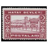 Hatay Stamps #1-24, J1-J11 Mint LH/NH CV $342.50