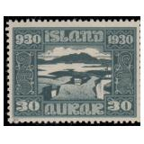 Iceland Stamps #152-166 Mint HR F/VF CV $396.50