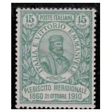 Italy Stamps #117 Mint HR F/VF CV $225