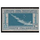 Italy Stamps #C27 Mint HR F/VF CV $450