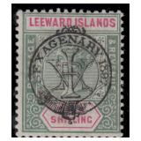Leeward Island Stamps #9/16 Mint HR F/VF CV $277