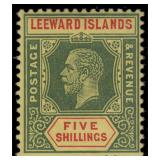 Leeward Island Stamps #46-60 Mint HR F/VF CV $161