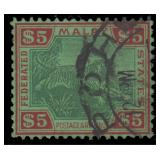 Malaya Stamps #79 Used VF CV $280