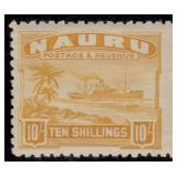 Nauru Stamps #17-30 Mint HR F/VF CV $290.50