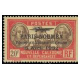 New Caledonia Stamps #182-207 Mint HR CV $204.25