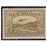 New Guinea Stamps #C46-C59 Mint HR CV $720.50
